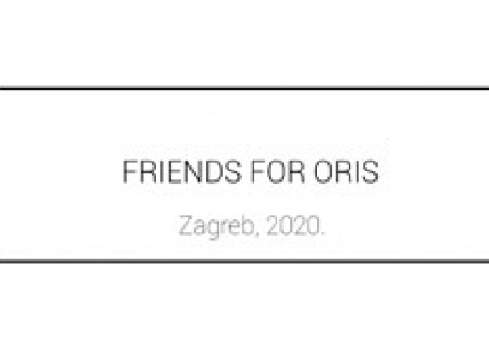 Dean Skira and Delta Light invited to take part in the Friends for Oris exhibition in Zagreb